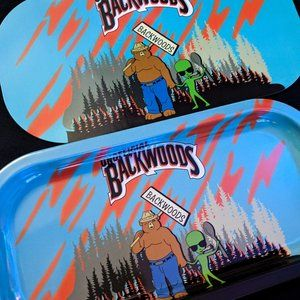Backwoods Smokey Bear Area 51 Alien Rolling Tray